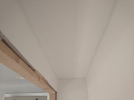 Closet Drywall Repair & Painting