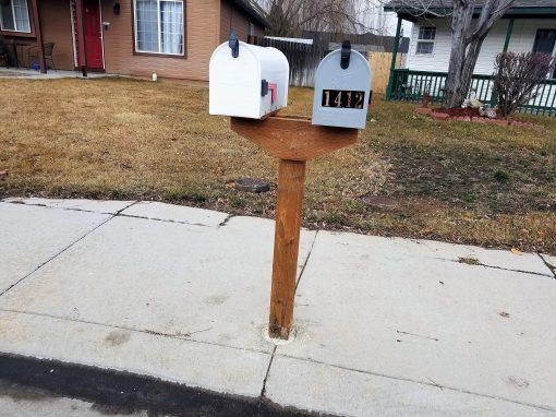 Mailbox Installation Carpentry