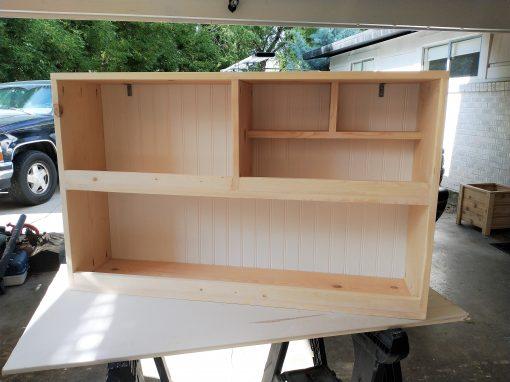 Toy Shelf Carpentry