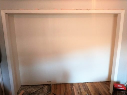 Closet Casing Trim Installation