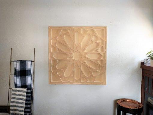 Wood Art Hanging