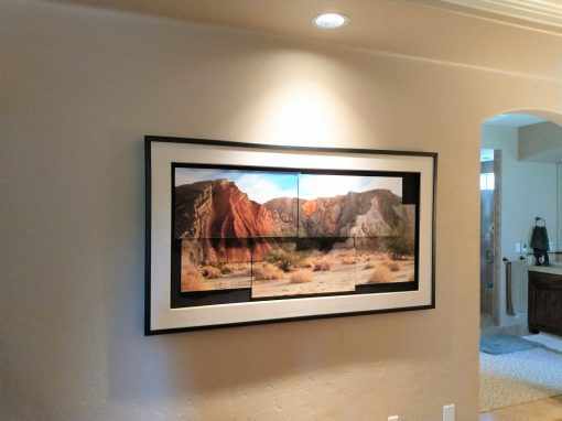 Residential Art Picture Hanging