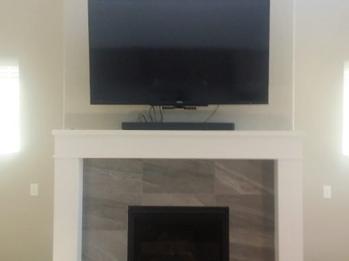 TV Mounting Over Fireplace
