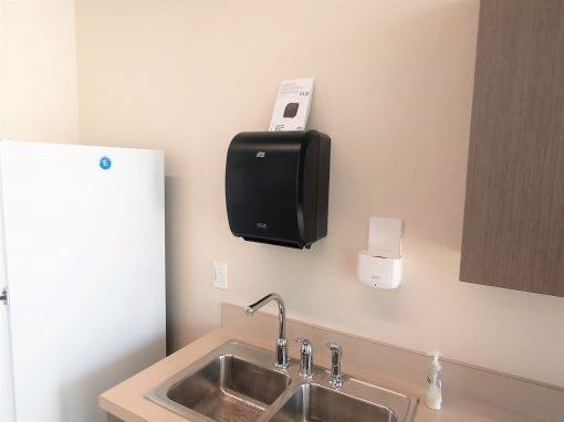Commercial Soap Dispenser Installation