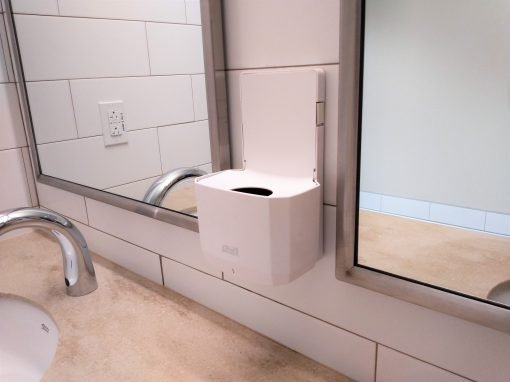 Commercial Bathroom Soap Installation