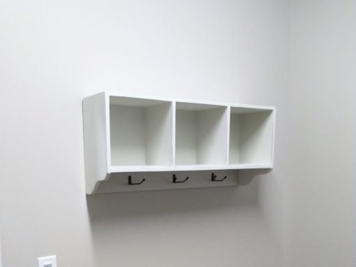 Commercial Shelf Mounting