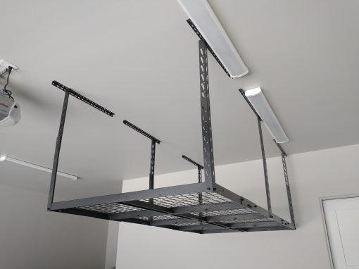 Garage Storage Rack Installation