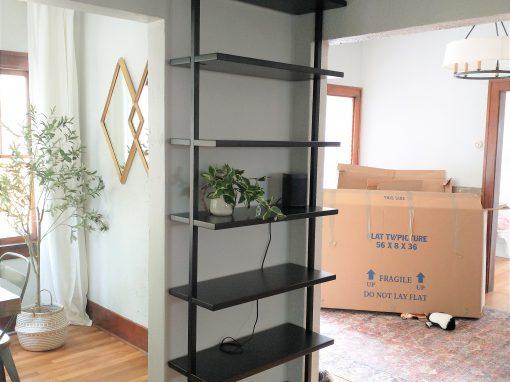 Wall Mounted Book Shelf