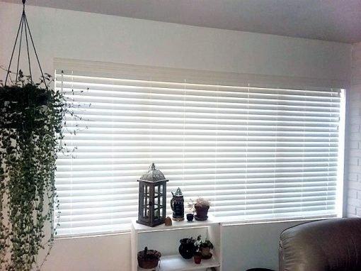 Large Window Blinds Installation